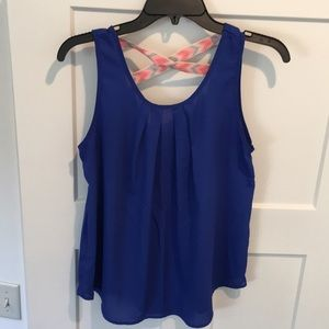 Papermoon Royal Blue Tank
